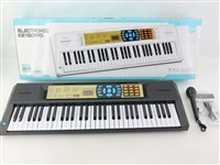 OBL1194485 - 61 key multifunction electronic organ with microphone USB cable