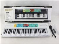 OBL1194492 - 61 key multifunction electronic organ with microphone USB cable