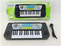 OBL1194493 - 32 key electronic organ with microphone 4 * AA battery without battery pack