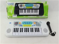 OBL1194495 - 32 key electronic organ with microphone 4 * AA battery without battery pack