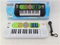 OBL1194496 - 32 key electronic organ with microphone 4 * AA battery without battery pack