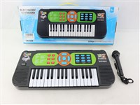OBL1194498 - 32 key electronic organ with microphone 4 * AA battery without battery pack