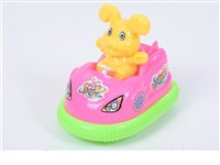 OBL1276907 - Sliding rabbit bumper car 4 colors mixed