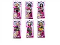 OBL733458 - The 9 inch Barbie accessories 6 mixed body clothes 1 color 1