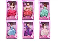 OBL742886 - The 11.5 inch Barbie 6 mixed body clothes 1 color 1