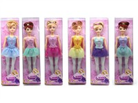 OBL742889 - The 11.5 inch Barbie 6 mixed body clothes 1 color 1