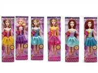 OBL742898 - The 11.5 inch Barbie 6 mixed body clothes 1 color 1