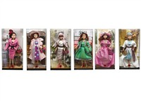 OBL786828 - The 11.5 inch Barbie 6 mixed body clothes 1 color 1