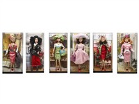 OBL786830 - The 11.5 inch Barbie 6 mixed body clothes 1 color 1