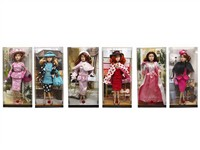 OBL786832 - The 11.5 inch Barbie 6 mixed body clothes 1 color 1