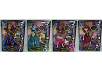 OBL795920 - The 9 inch Barbie devil accessories 4 mixed body clothes 1 color 1
