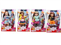 OBL806860 - 18 inch empty body Barbie accessories 4 mixed body clothes 4 color 4