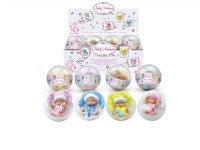 OBL979218 - The 4.5 inch doll accessories main clothes 1 4 colors mixed 24 capsules 1 display box