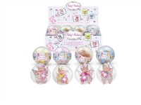 OBL979220 - The 4.5 inch doll accessories 4 mixed body clothes 1 1 24 capsules 1 color display box