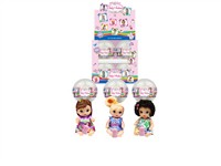 OBL979232 - The 4.5 inch doll accessories 3 mixed body clothes 1 1 12 capsules 1 color display box