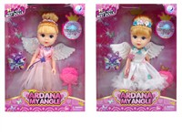 OBL979241 - 10.5 inch fairy Barbie with accessories 2 mixed main clothing 1 1 colors.