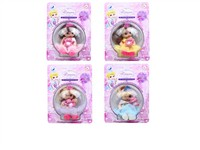 OBL979243 - The 4.5 inch doll accessories 4 mixed body clothes 1 color 1