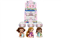 OBL979254 - The 4.5 inch Barbie accessories 3 mixed body clothes 1 1 color display box 12 Pack 1