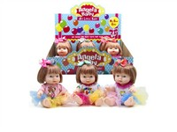 OBL979257 - 9.5 inch doll 3 mixed main clothing 1 1 colors 9 body 1 display box