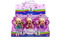 OBL979261 - The 4.5 inch Barbie 3 mixed body clothes 1 1 12 1 color display box